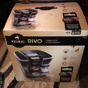kuerig Other - New Keurig Rivo LaVazza Espresso Coffee Brewer